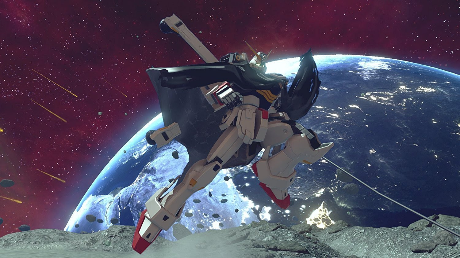 First Japanese TV spot for Gundam Versus debuts, pre-order DLC appears screenshot