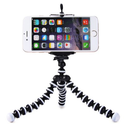 Mini Octopus Style Mobile Phone Stand Flexible Tripod-1.92 Online Shopping| GearBest.com