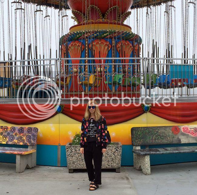 Santa Cruz Boardwalk Carousel OOTD