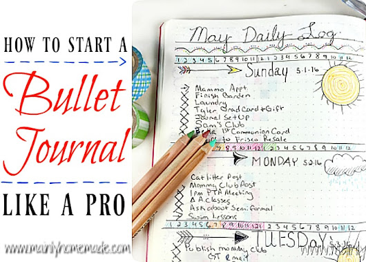 How to Start a Bullet Journal Like a Pro