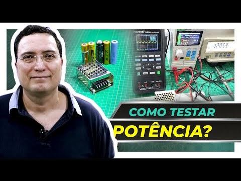 Como testar Baterias de Lítio Li-Ion e Fontes DC