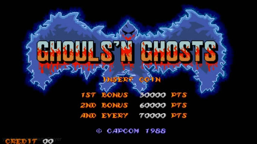 Ghouls n Ghosts | Free Arcade Horror Game | Capcom 1988 | Arcader.com