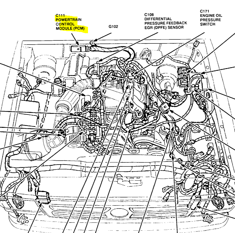 2003 Ford F250 Brake Line Diagram