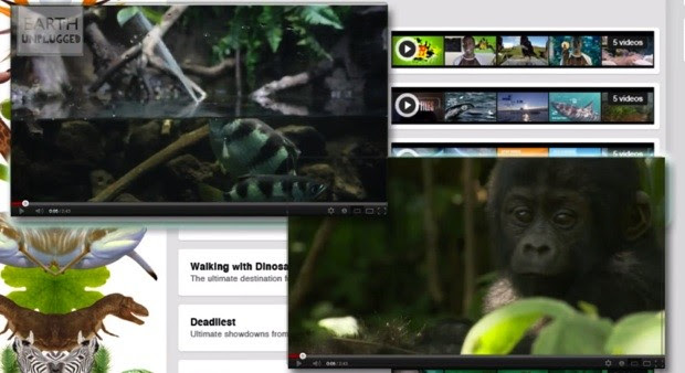 BBC launching Earth Unplugged channel on YouTube from November 16th, gives us nature beyond the cat videos