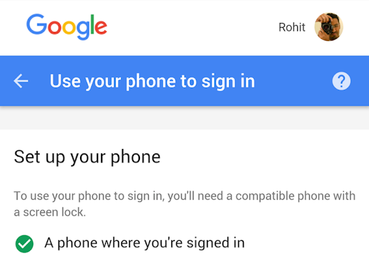 Google Appears To Be Testing A New Way To Log Into Your Account On Other Devices With Just Your Phone (No Password Needed)