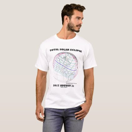 Total Solar Eclipse 2017 August 21 North America T-Shirt