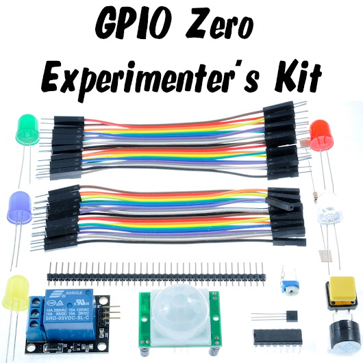 GPIO Zero Experimenter's Kit and RasPiO Pro Hat