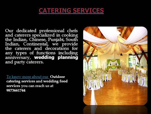 A-One Caterers & Decorators Ppt Presentation