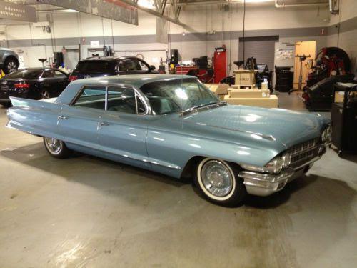 Buy used 1962 Cadillac Sedan Deville 4 window Newport Blue ...