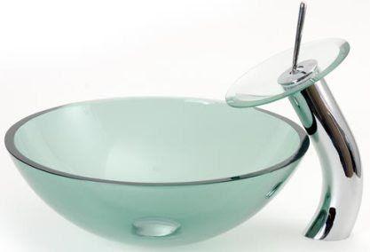Dreamline Dlbg 07g Round Vessel Sink Green Glass Color Tempered