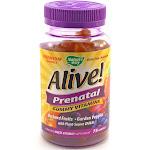 Alive! Prenatal Gummy Vitamins by Natures Way - 75 Gummies
