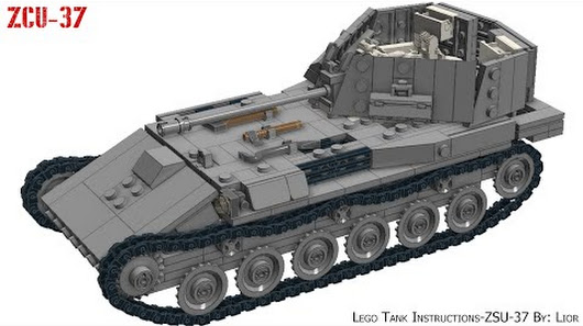 Lego Tank Instructions Google