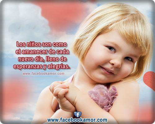 Frasesamor Imagenes De Bebes Con Frases De Amor Para Facebook