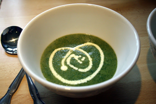 Home made Watercress soup
