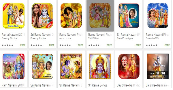 Sri Rama Navami 2018 Photo Frames App Apk Whatsapp Status Video