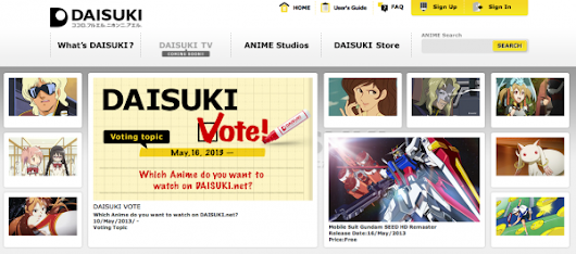 Daisuki, a Studio-Backed Anime Streaming Service: First Look and Interview