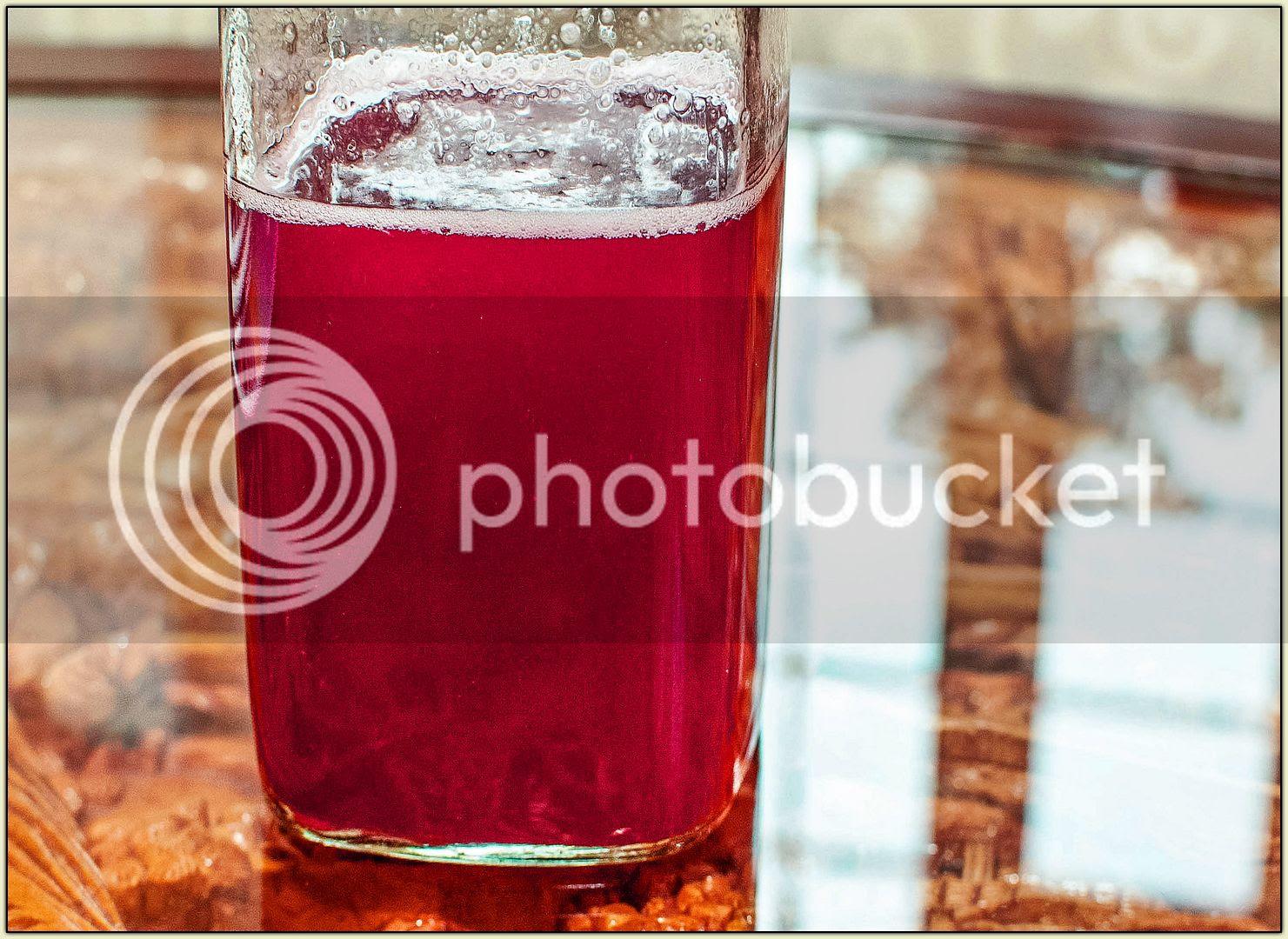 Raspberry Shrub
