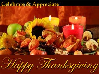 Attitude of Gratitude: Happy Thanksgiving 2012!