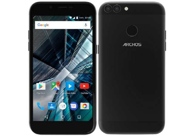 Archos Outs 50 Graphite, 55 Graphite with Dual Rear Cameras, USB Type-C