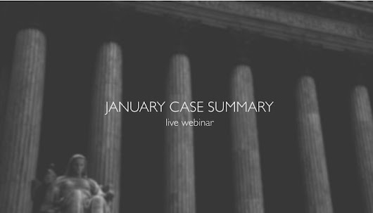 The 11 Illinois Criminal Cases To Know About For January 2016 - IllinoisCaseLaw.com