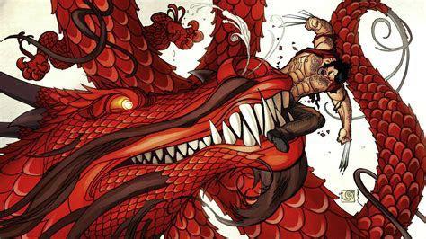 Dragons comics wolverine wallpaper   AllWallpaper.in #8422