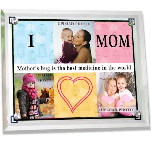 Glass Photoframe For Best Mom In The World