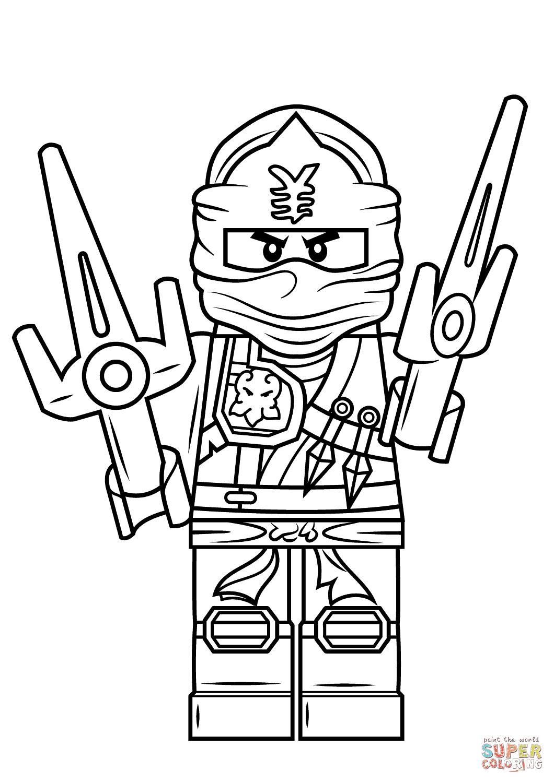 Mewarnai Ninja Go Coloring And Drawing