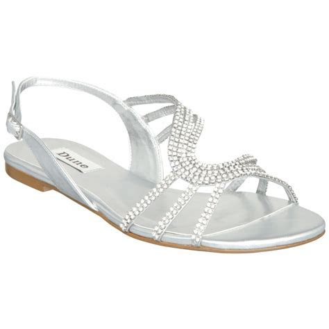 Silver Sandals for Wedding   CraftySandals.com