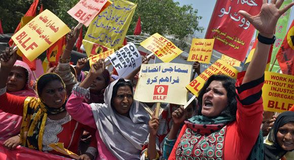 Pakistán. Foto: ARIF ALI/AFP.