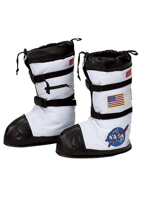 white astronaut boot tops