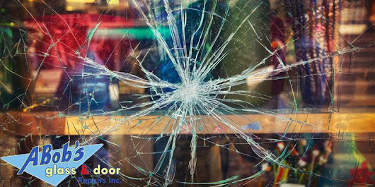 Commercial Glass Entry Door Repair | A Bobs Glass Repair