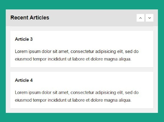 Vertical List Scroller Plugin with jQuery - Vertical Carousel