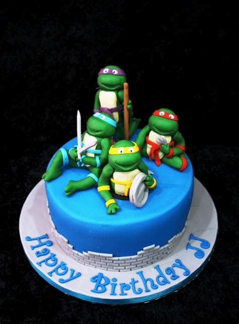 Ninja Turtle Cakes ? Decoration Ideas   Little Birthday Cakes