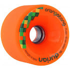 Orangatang Durian 75mm 80a Orange Freeride Longboard Skateboard Wheels