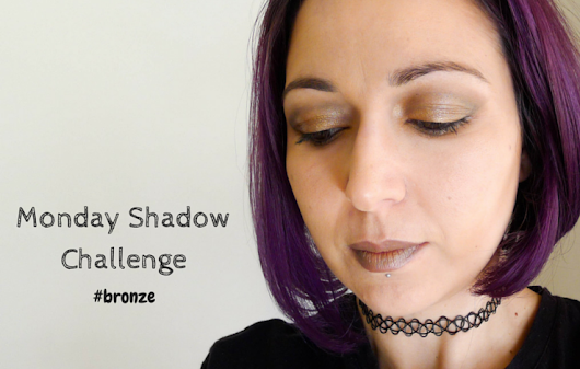 Monday Shadow Challenge #Bronze - La Snoopette