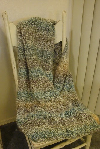 Lion Brand Homespun Shawl
