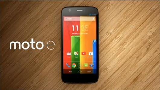 HWT - Motorola Moto E is now official