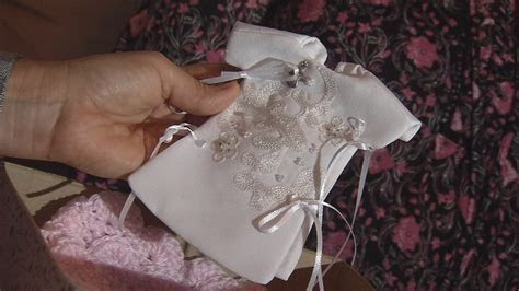 'God's Littlest Angels' turns old wedding dresses into