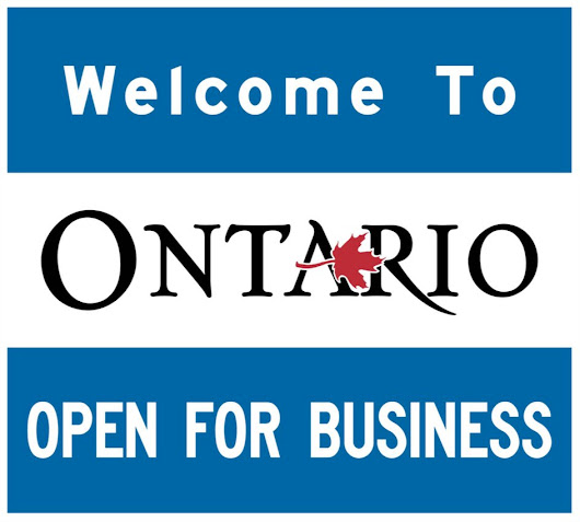 How Ontario isn't really 'open for business' - Canadian Manufacturing