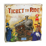 Days of Wonder DOW7201 Ticket to Ride Board Game