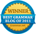 The Best Grammar blog of 2011