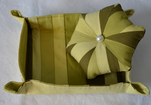FTLOS - pincushion and fabric box