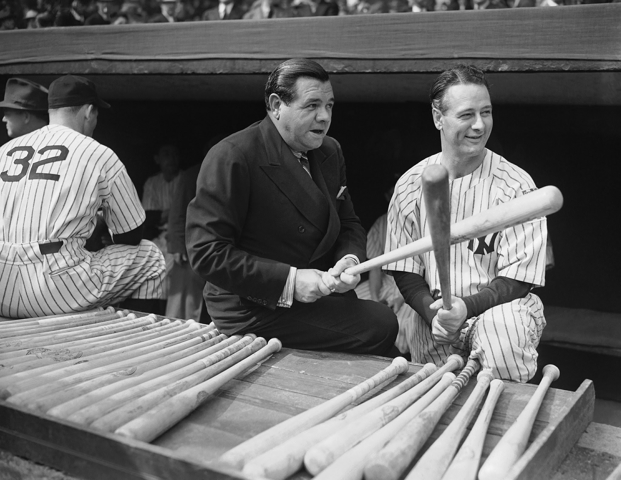 Image result for babe ruth gehrig