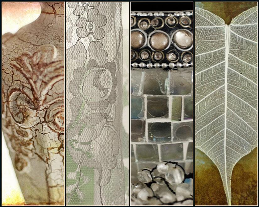 Mosaic Monday: Lace, Glass & Scroll