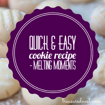 Quick & Easy Cookie Recipe - Melting Moments