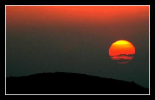 Sunset in thungapadra