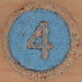 Wooden Bingo Number 4
