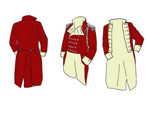 Custom Military Tailcoat