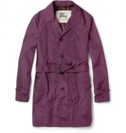 Burberry London Showerproof Belted Coat