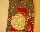 Old Fashioned Santa Hanging Towel